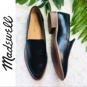 Madewell The Frances Leather Loafers - Like New!